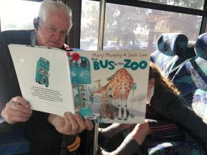 A great book to read on the bus!